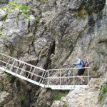 Leiter am Schrofenpass